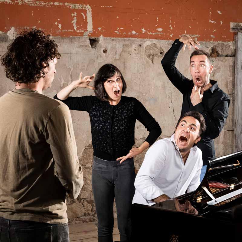 Opéra participatif et cours de chant par la compagnie Comiqu'opéra