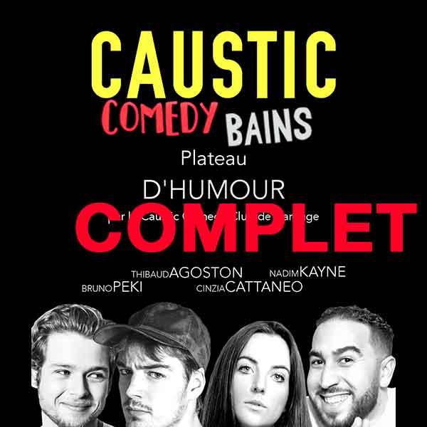 Caustic Comedy Club aux Bains des Pâquis