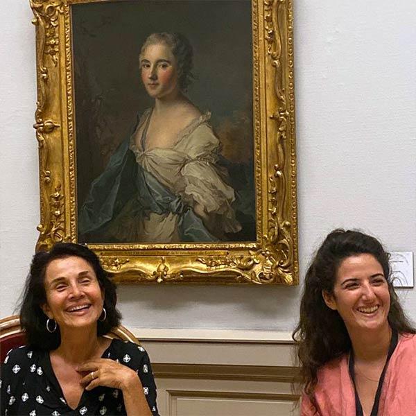 Maria Mettral et Lola Gregory au MAH