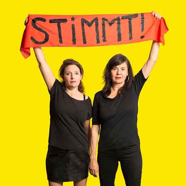 Stimmt! – Stefanie Grob & Sibylle Aeberli